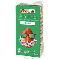 Органическое миндальное молоко с сиропом агавы, 1л, EcoMil (8428532230016)
