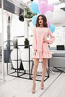 """Женское платье с воланами """"Ясмина"""""""