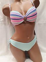 Купальник  517526 Джессика нежно-розовый ,идет на наши 44,48,50 размеры., фото 3