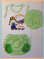 Комплект для малышей с беретом
