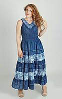 Сарафан женский Джинсовый 13818 (2 цвета), джинсовый сарафан недорого