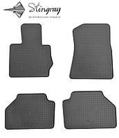 Комплект резиновых ковриков Stingray для автомобиля  BMW X4 (F26) 2014-    4шт.