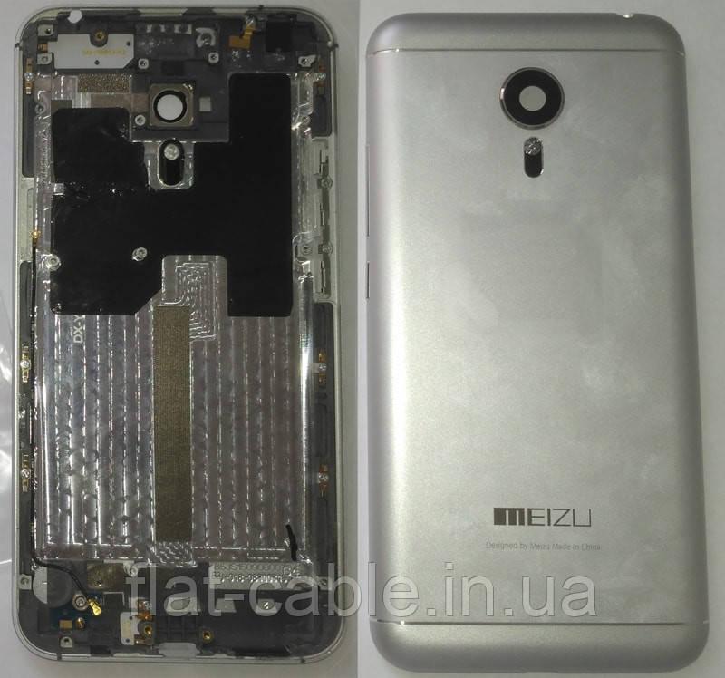 Кришка задня Meizu MX5 сірого кольору