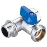 Кран-тройник  для подключения сантехнических приборов HLV (106254)