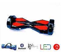 Гироскутер Lambo 8′ digital черный (Led, Bluetooth, пульт, сумка)