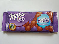 Шоколад Милка Bubbly айро-молочный 100 гр