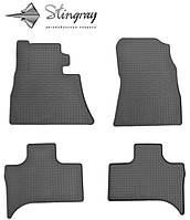 BMW X5 (E53) 1999-  Резиновые коврики Оригинальный размер Комплект состоит из 4-х ковриков