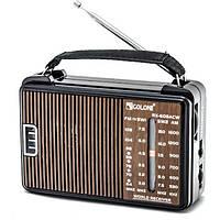 Радиоприемник GOLON RX-608ACW, всеволновой радиоприемник, радиоприемник golon AM/FM/TV/SW1-2, фото 1
