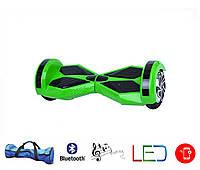 Гироскутер Lambo 8′ digital зеленый (Led, Bluetooth, пульт, сумка)