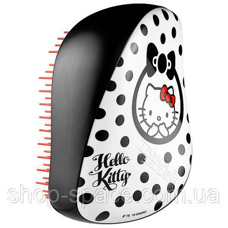 Расческа Tangle Teezer Compact Styler Hello Kitty Black