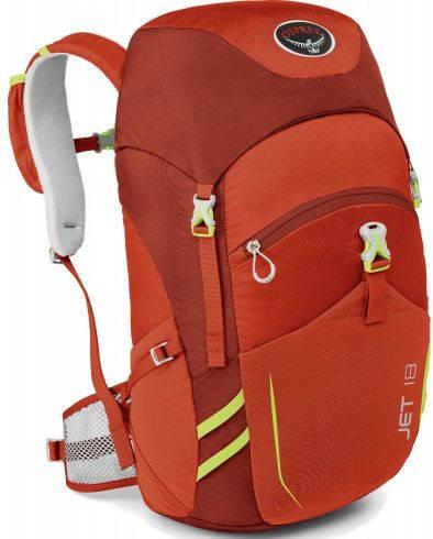 Детский, подростковый рюкзак 18 л. Osprey Jet 18 O/S красный