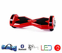 Гироскутер Lambo 8′ digital красный (Led, Bluetooth, пульт, сумка)