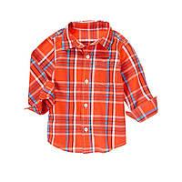 Детская рубашка для мальчика.  4 года