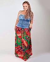 Сарафан женский Джинсовый 2657, джинсовый сарафан недорого