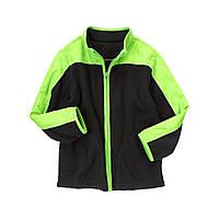 Детская флисовая курта для мальчика. 5-6 лет