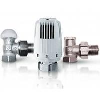 Комплект для радиаторов с термоголовкой Herz Classic  угловой 1/2' (772401)
