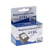 Черный картридж microjet hp 21xl black для dj 3920/f4200/f5200 (hc-e01x) повышенной емкости