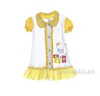 Платье детское Niso Baby 1018 желтое 86