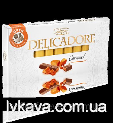 Шоколад Delicadore CARAMEL 200г, фото 2