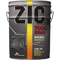 Масло моторное ZIC 7000 EURO 10W-40 (20л)