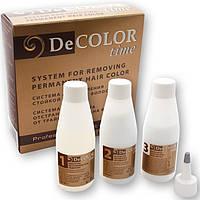 Смывка стойкой краски для волос DE COLOR TIME