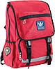 Рюкзак подростковый ортопедический ТМ 1 Вересня OX 228, червоний, 30*45*15