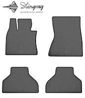Комплект резиновых ковриков Stingray для автомобиля  BMW X6 (E71) 2008-   4шт.