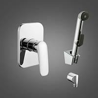 PRAHA new  набор (смеситель скрытого монтажа с гигиеническим душем)