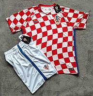 Футбольная форма Хорватия красная сезон 16-17 короткий рукав