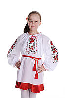 Блуза для девочки Букет Роз | Блуза для дівчинки Букет Троянди