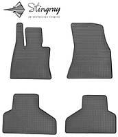Комплект резиновых ковриков Stingray для автомобиля  BMW X6 (F16) 2014-   4шт.