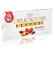 Шоколад Delicadore Strawberry 200г, фото 2