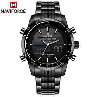 Чоловічий спортивний годинник Naviforce Army 9024 по супер ціні! Гарантія!