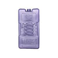 Компактный многоразовый аккумулятор холода, прямоугольный, синий, 9х17,4х2,4 см, 400 г