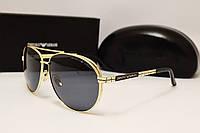 Мужские солнцезащитные очки Emporio Armani EA 10019 Gold