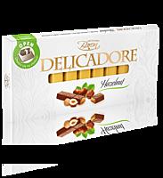 Шоколад Delicadore Hazelnut 200г молочний шоколад, фото 2