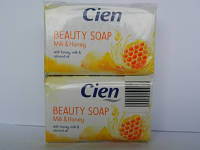 Мыло Cien Beauty soap Milk & Honey 150 g.