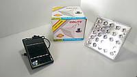 Лампа с аккумулятором и солнечной батареей GD-025