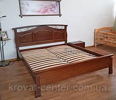 """Большая деревянная кровать """"Марго"""" (200*200см.), массив - сосна, ольха, береза, дуб., фото 3"""