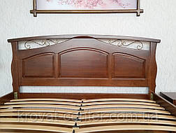 """Кровать деревянная """"Марго"""" массив - сосна, ольха, береза, дуб., фото 3"""