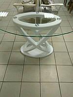 """Стол обеденный овальный """"Бесконечность"""" 130/80/74 см."""