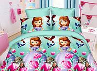 Детский комплект постельного белья София