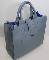Модная женская сумка Valetta Studio пастельно голубой цвет