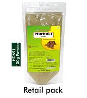 Харитаки / Haritaki - Очищает тело от шлаков и токсинов / Herbal Hills / 100 гр