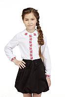 Блуза для девочки Калинонька | Блуза для дівчинки Калинонька