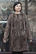 "Пальто з каракульчі ""Тіфані"" swakara jacket broadtail fur coat furcoat"