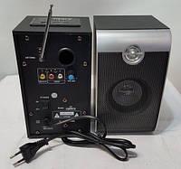Мощные компьютерные колонки Ailiang USBFM-02, фото 1