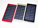 Солнечное зарядное 50000 mAh металлический корпус, фото 5