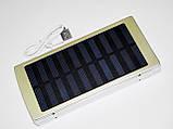 Солнечное зарядное 50000 mAh металлический корпус, фото 7