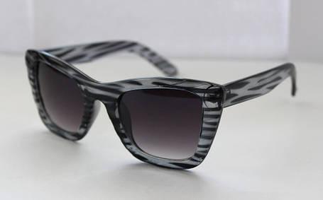 Квадратные солнцезащитные женские очки в оправе анималистической расцветки, фото 2